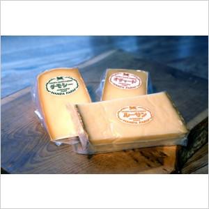 北海道半田ファームのチーズ:Aセット